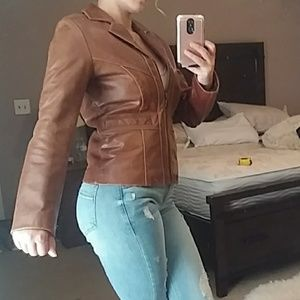 Brown Wilson Leather Jacket